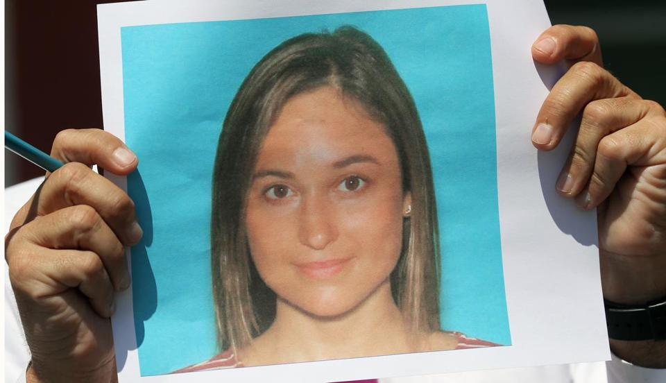 PRINCETON, MA - 8/08/2016:A handout photo of the victim Vanessa Marcotte who went jogging in Princeton, Mass., and was found dead. The death of a woman in her 20s who went out for a jog in the Central Massachusetts town of Princeton on Sunday is considered suspicious, a law enforcement official said Monday. (David L Ryan/Globe Staff Photo) SECTION: METRO TOPIC 09princeton(2)